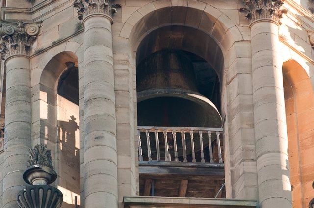 """soporte de la """"campana María"""", Catedral de Pamplona"""